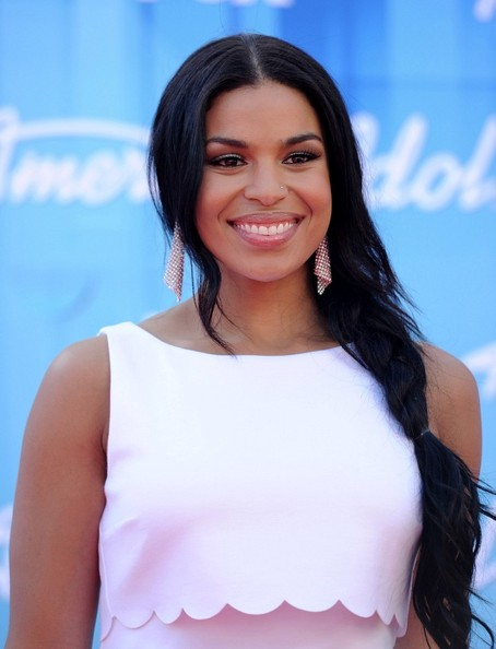 Jordin Sparks Long Braided Hairstyle
