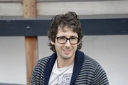 Josh Groban Shawl-Collar Cardigan