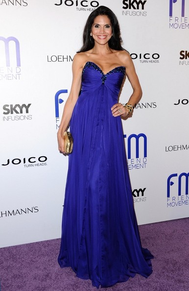 Joyce Giraud Strapless Dress