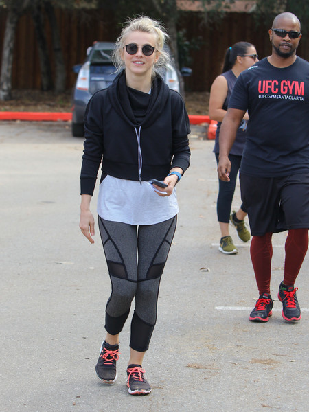 Julianne Hough Running Shoes