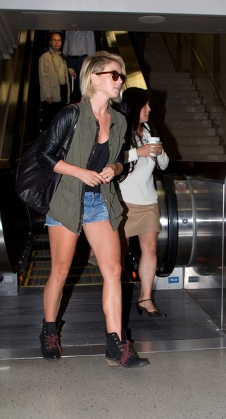 More Pics of Julianne Hough Denim Shorts (5 of 30) - Julianne Hough Lookbook - StyleBistro