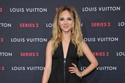 Juno Temple Halter Dress