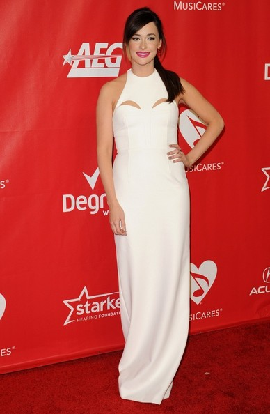 Kacey Musgraves Cutout Dress []