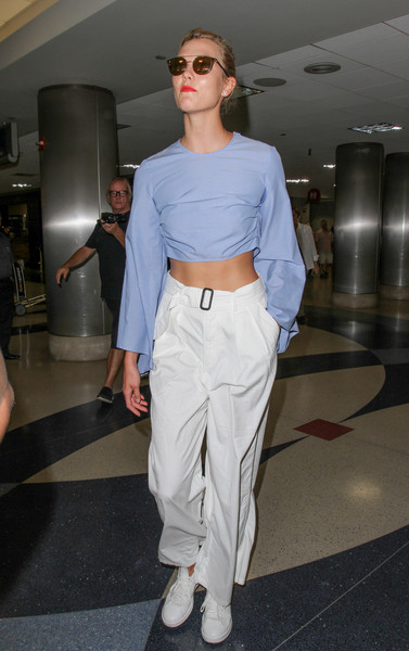 Karlie Kloss Crop Top