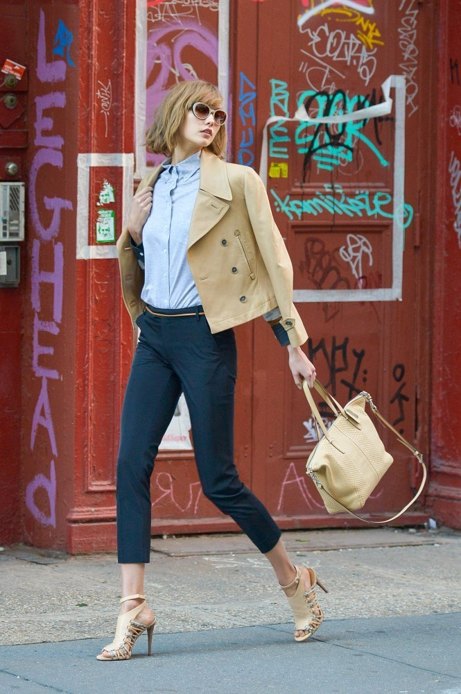 Karlie Kloss Poses in NYC — Part 2