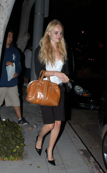 Kate Bosworth Studded Bowler Bag