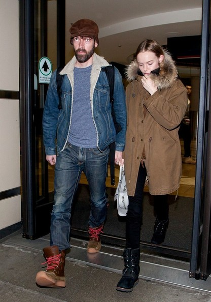 Kate Bosworth and Michael Polish at the Airport in LA