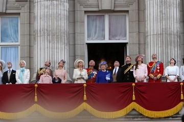Kate Middleton Camilla Parker Bowles Trooping the Colour 2013