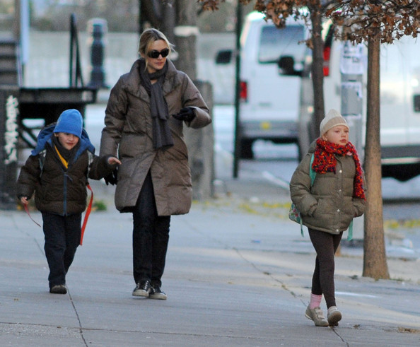 Kate Winslet and Her Kids in New York