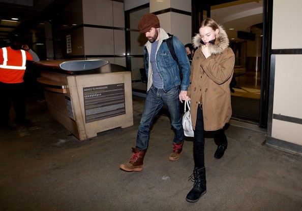 More Pics of Kate Bosworth  Snow Boots (1 of 10) - Boots Lookbook - StyleBistro []