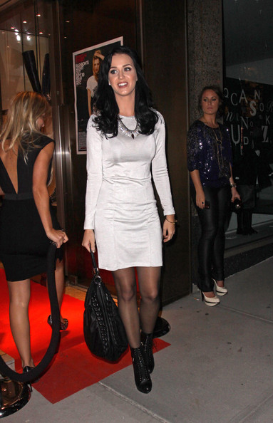 More Pics of Katy Perry Leather Hobo Bag (2 of 3) - Katy Perry Lookbook - StyleBistro []