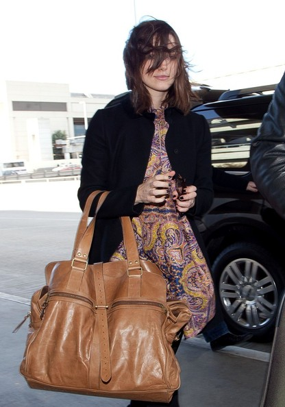 More Pics of Keira Knightley Leather Tote (1 of 16) - Leather Tote Lookbook - StyleBistro