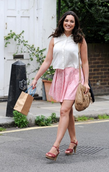 Kelly Brook Mini Skirt