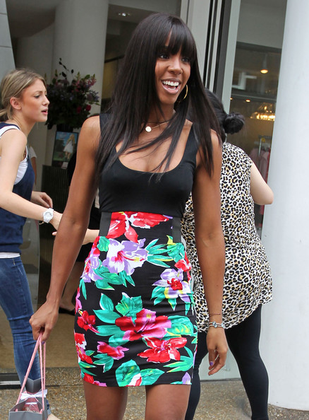 Kelly Rowland Day Dress