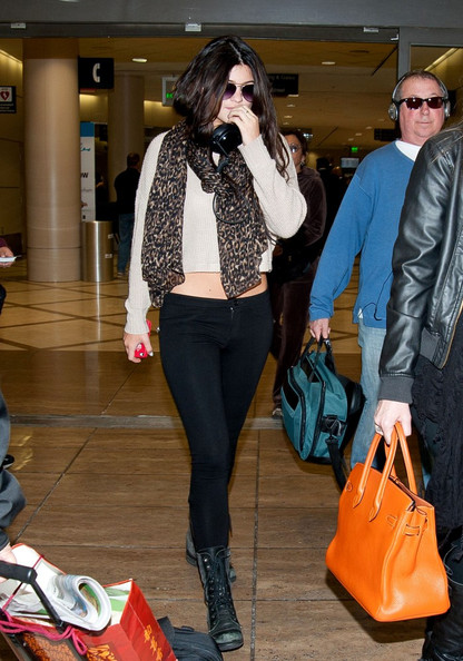Kendall Jenner Combat Boots