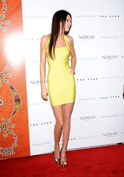 Kendall Jenner Bandage Dress