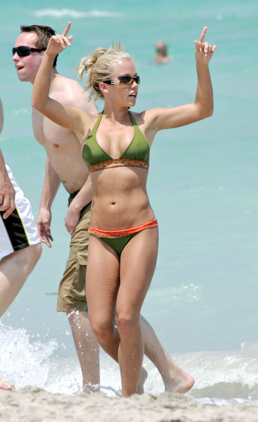 More Pics of Kendra Wilkinson Halter Bikini (5 of 12 ...