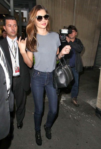 More Pics of Miranda Kerr T-Shirt (1 of 13) - Miranda Kerr Lookbook - StyleBistro