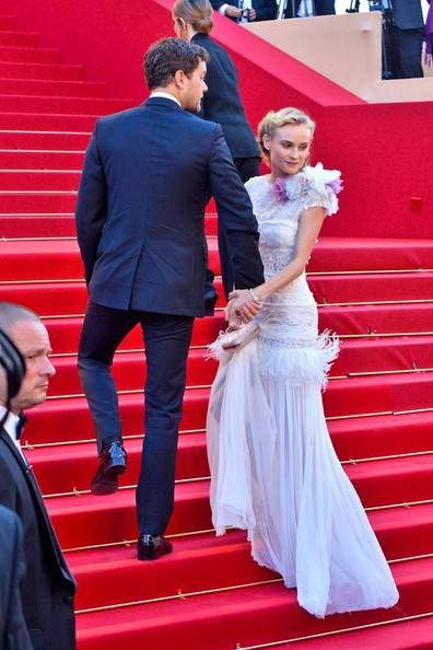 More Pics of Diane Kruger Retro Updo (1 of 5) - Updos Lookbook - StyleBistro