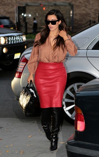 Kim+Kardashian in Kim Kardashian Out in NYC