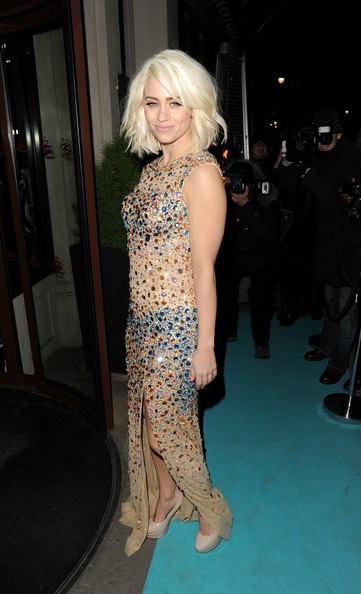 Kimberly Wyatt Beaded Dress