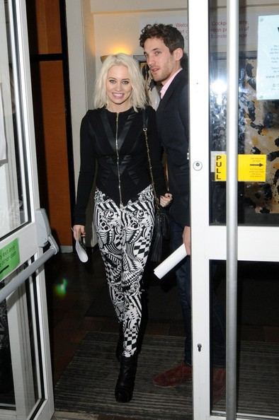 Kimberly Wyatt Print Pants