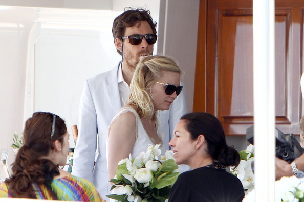 Kirsten Dunst and Jason Boesel in Cannes