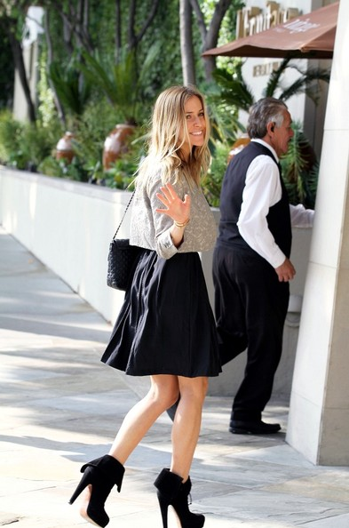 More Pics of Kristin Cavallari Ankle Boots (1 of 5) - Kristin Cavallari Lookbook - StyleBistro