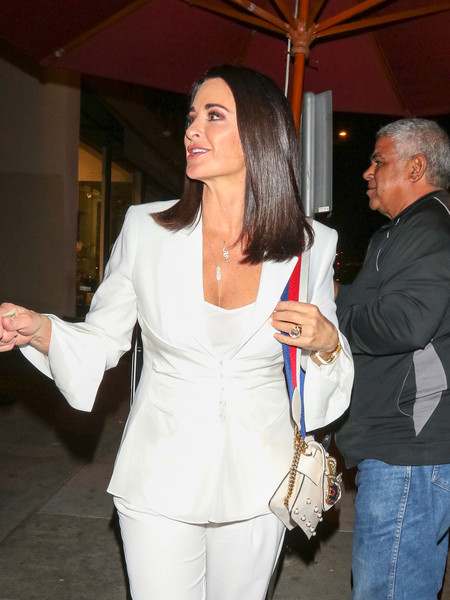 b32b8c4ef44 More Pics of Kyle Richards Studded Shoulder Bag (1 of 6) - Kyle Richards  Lookbook - StyleBistro