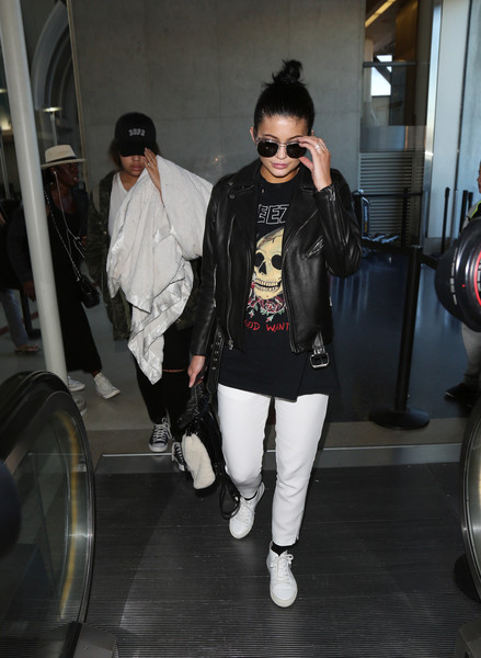 Kylie Jenner Leather Jacket