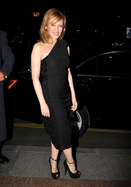 Kylie Minogue Little Black Dress