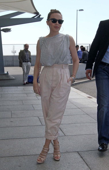 Kylie Minogue High-Waisted Pants
