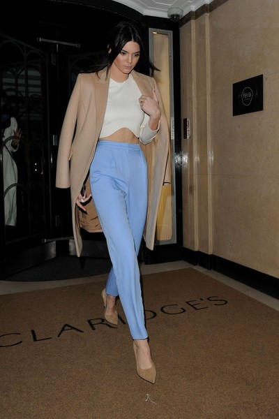 Look of the Day, February 24th: Kendall Jenner's Cool Colors