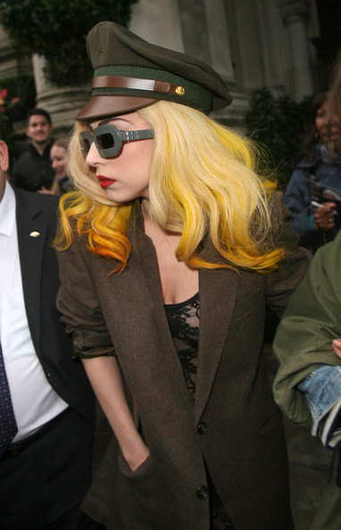 Lady Gaga Military Cap