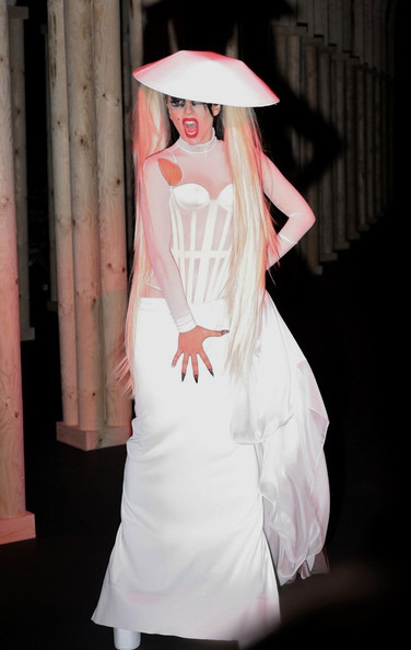 Lady Gaga Corset Dress