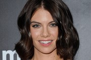 Lauren Cohan Medium Wavy Cut