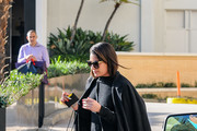 Lea Michele Leather Shoulder Bag