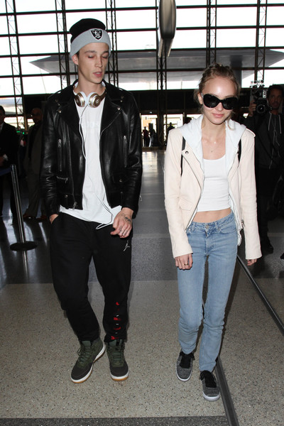 Lily-Rose Depp Classic Jeans