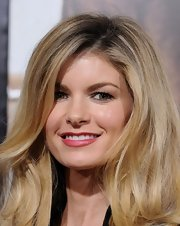 Marisa Miller wore deep cranberry-hued lipstick to the premiere of 'Lincoln lawyer'. It was a nice way to punch up her natural look.