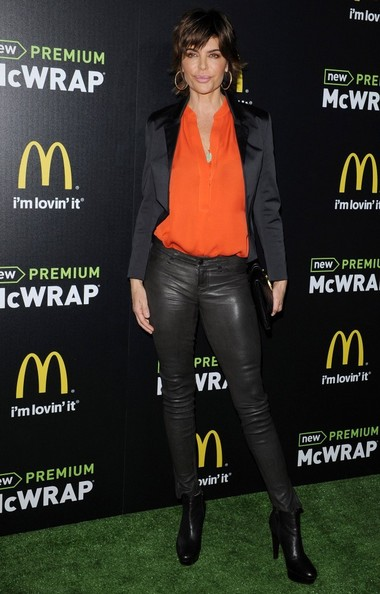 Lisa Rinna Leather Pants