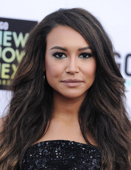 More Pics of Naya Rivera Bright Eyeshadow (1 of 10) - Bright Eyeshadow Lookbook - StyleBistro