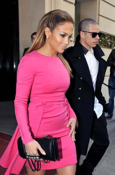 More Pics of Jennifer Lopez Cocktail Dress (5 of 16) - Jennifer Lopez Lookbook - StyleBistro