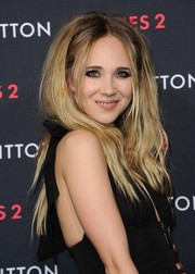 Juno Temple's teased, center-parted 'do at the Louis Vuitton Series 2 exhibition had a sexy, Brigitte Bardot-esque feel.