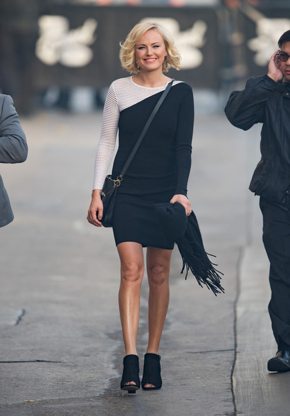 Malin Akerman Ankle Boots