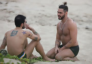 Designer Marc Jacobs has a large star tattooed on his right shoulder blade.