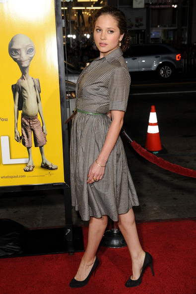 Margarita Levieva Shirtdress