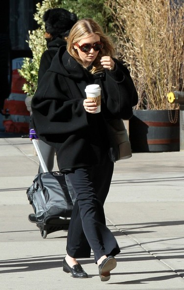 More Pics of Mary-Kate Olsen Wool Coat (3 of 6) - Wool Coat Lookbook - StyleBistro