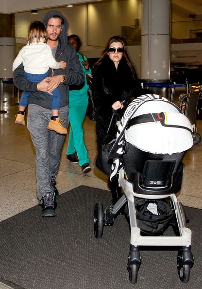 The Kardashian Family Lands in LAX