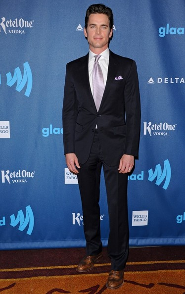 Matt Bomer Men's Suit