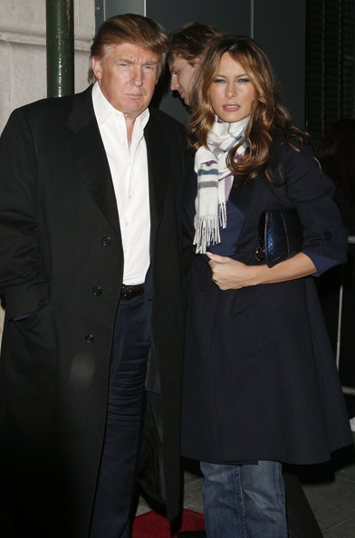 Melania Trump Wool Coat